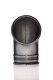 Bogenstück 90° 150 mm Metall