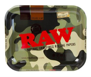 RAW Rolling Tray Camouflage - L
