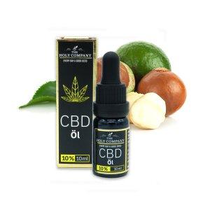 The Holy Company CBD Öl Macadamianuss 10% CBD 10ml