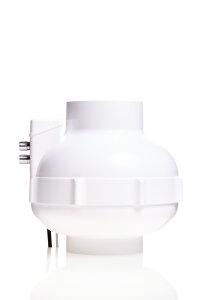 RVK 125 mm Prima Klima EC 700 m³/h Thermostat und...